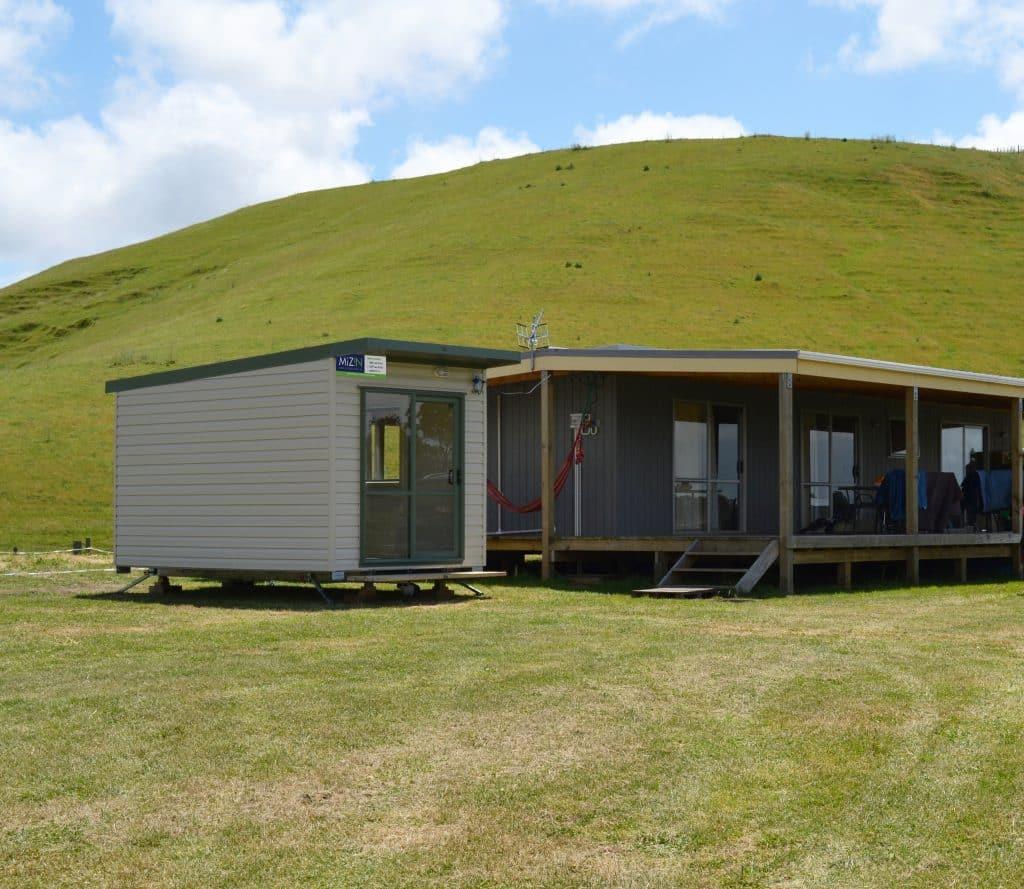 Cabin on rural block