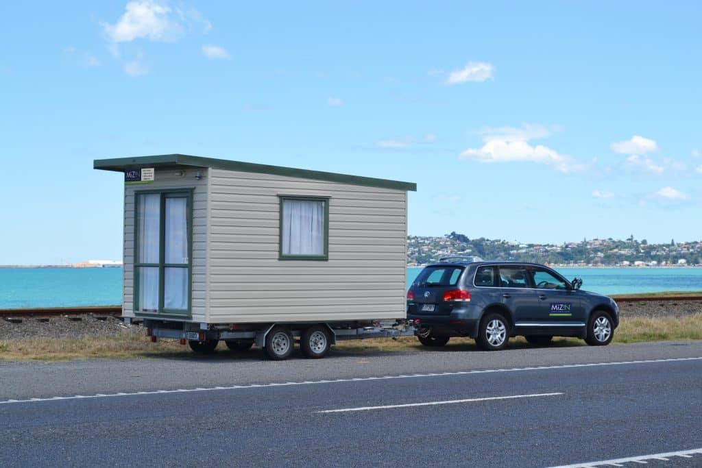 Cabin on trailer